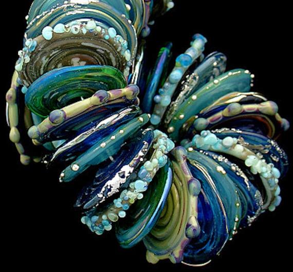 Lampwork Beads Glass Beads For Jewelry Supplies Beading Projects Craft Supplies Beads Jewelry Making Bracelet Bead Necklace Debbie Sanders