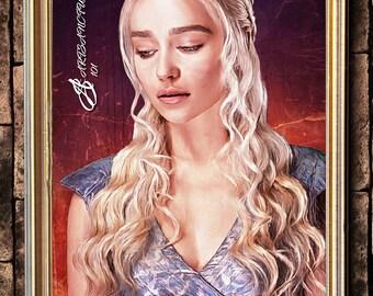Daenerys Dragon queen