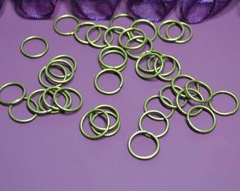 Bronze 10mm jump rings