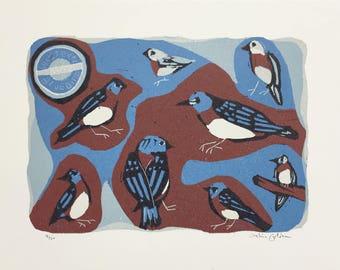 Bluebird of Happiness Print