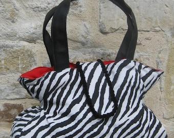 Large bag Zebra