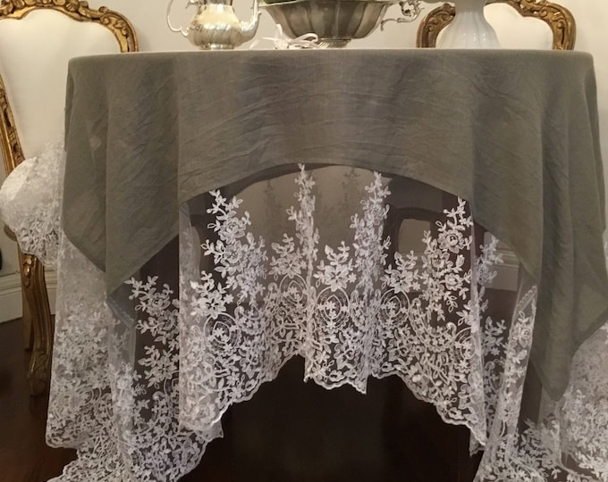 "Tablecloth ""VILLA VITTORIA"""