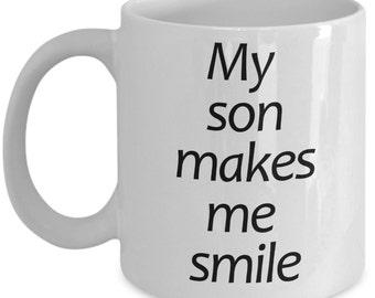 My Son Makes Me Smile
