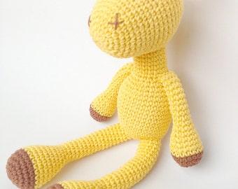 Giraffe Plush, Giraffe Stuffed Animal, Giraffe Plushie, Giraffe Stuffed Toy, Crochet Giraffe, Amigurumi Giraffe