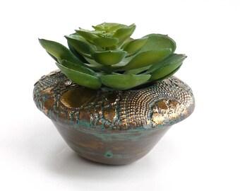 Cactus pot ~ succulent planter, small pot, flower pots, Charming Gardens, home decor, handmade ceramic planter, cacti pot, New Year gift