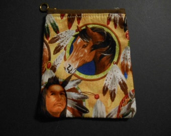 Gift Card Holder, Christmas, Holiday, money, check, stocking stuffer, Native american