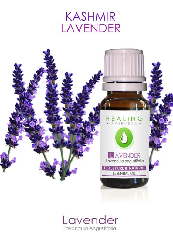 Lavender Essential oil- Kashmir Lavender oil- 100% Pure Lavender- Therapeutic lavender-Skincare- Organic beauty oil- versatile oil- Ayurveda