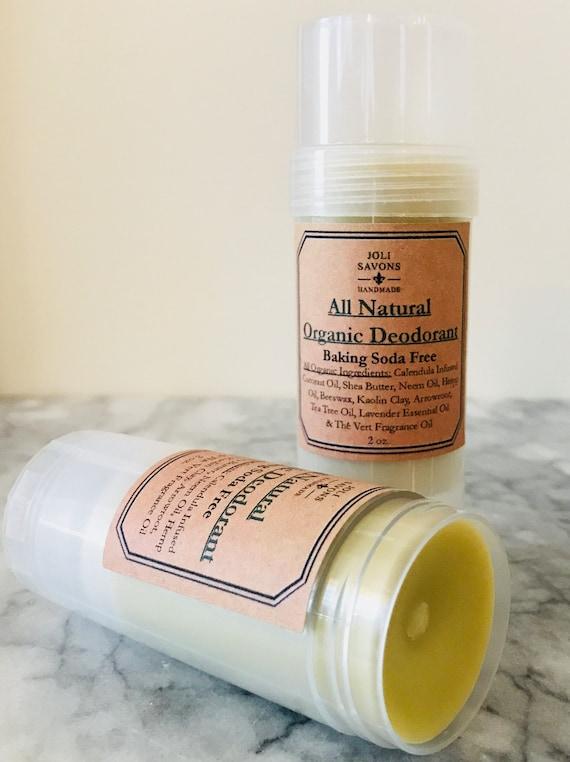All Natural Organic Deodorant