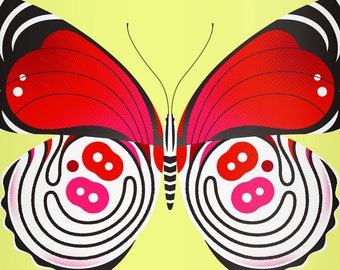 88 butterfly limited edition print