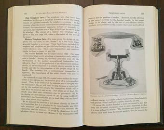 Fundamentals of Telephony, 1943 vintage book