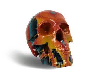 Skulls with Fractal Art Designs-Eastwood
