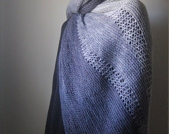 ACCLIVOUS Shawl Knitting Pattern PDF