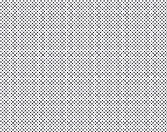 ON SALE Riley Blake Designs Kisses by Doodlebug Design Navy on White