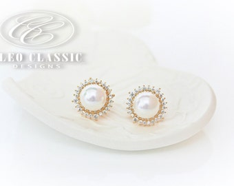 Pearl Studs | Pearl Jewelry | Bridesmaid Gifts | Bridesmaid Earrings | Pearl Earrings | Bridal Earrings | Wedding Jewelry