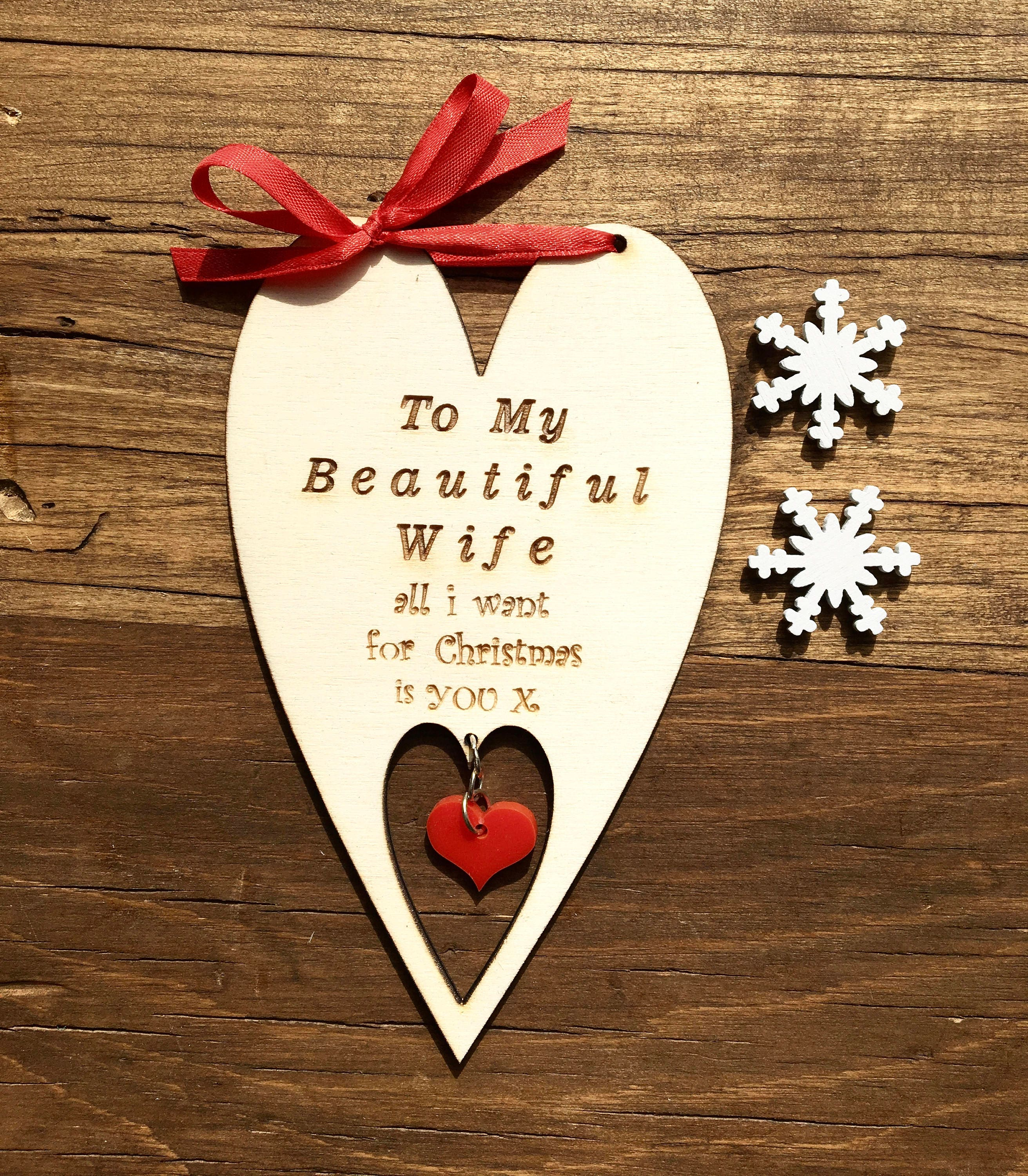 Card for wife wife cards wife christmas i love you cards zoom kristyandbryce Choice Image