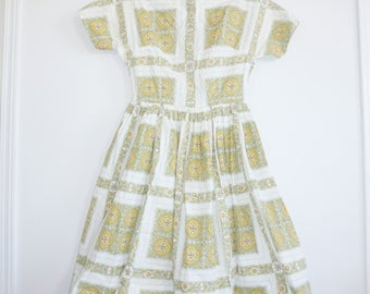 Vintage Junior Girl's Dress