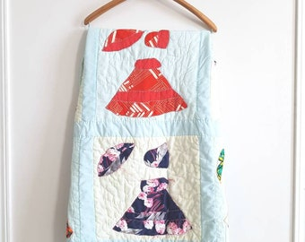 Vintage Sun Bonnet Sue Quilt