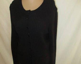 Vest Sonia Rykiel black size 40 in-74