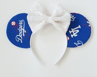 LA Dodgers Mouse Ears