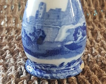 """Antique """"Copeland Spode"""" Italian Blue and White Pepper Pot! Authentic-Made in England!"""