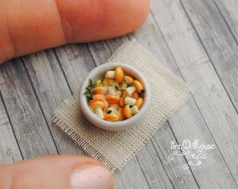Realistic miniature mushrooms, mushroom from Fimo, polymer dollhouse miniature food, dessert, kitchen, kitchen