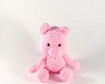 Amigurumi Pig, Crochet Farm Animals, Stuffed Pig, Pig Plush, Crochet Pig, Piglet, Pig, Stuffed Animal, Baby Shower Gift, Gifts for Kids