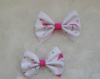 Pink Flamingo Bows