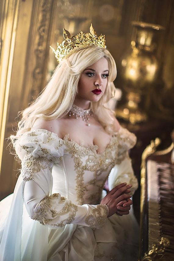 Sleeping Beauty Princess Medieval Fantasy Gown Custom Color