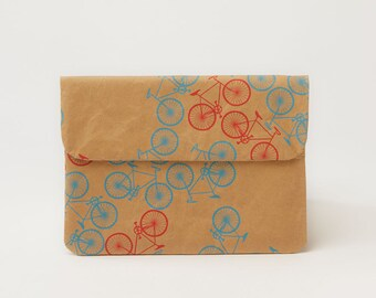 City Bikes Pattern Mini Paper Sleeve