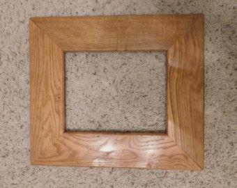 8x10 Finished Oak Frame (#5325)