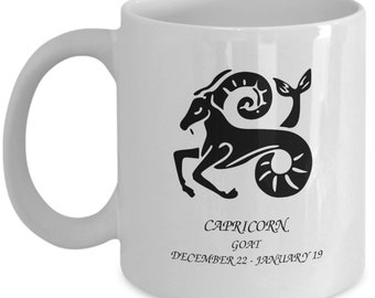 Zodiac Mug Capricorn The Goat