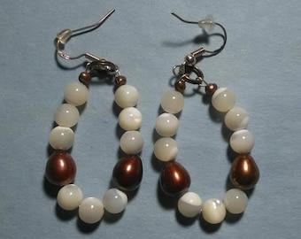 Sea Opal & Grape Potato Pearls