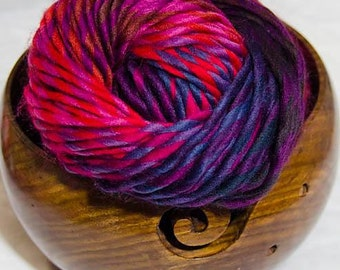 Loops and Threads Facets Yarn - Red Topaz