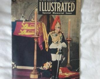Illustrated magazine special memorial issue 1952
