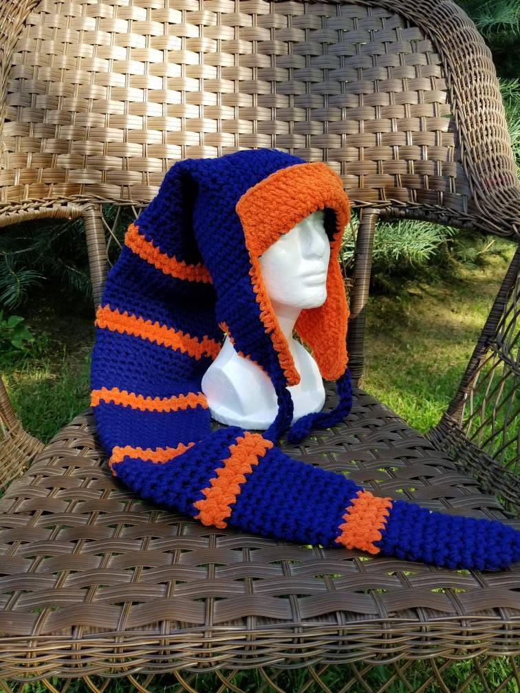 ca45cb8ffe8 ... knit beanie hat 57c8e 9290b  denmark chicago bears long stocking hat  scarf combo chicago bears ae8c3 5be35