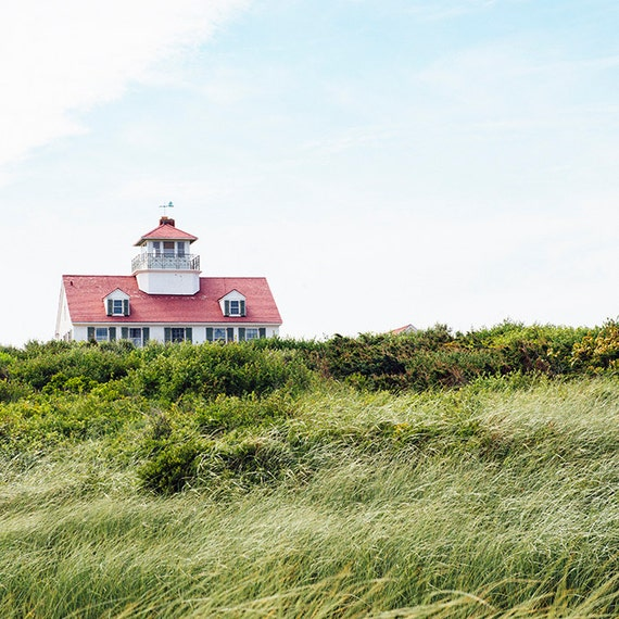 Summer Above the Dunes Print, Nautical Image, Art, Photography, Cottage Scene, Beach Home Decor, Fine Art Print