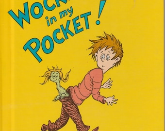 Dr. Seuss - There's a Wocket in My Pocket - A Bright and Early Book for Beginning Readers - Vintage Childrens Book -