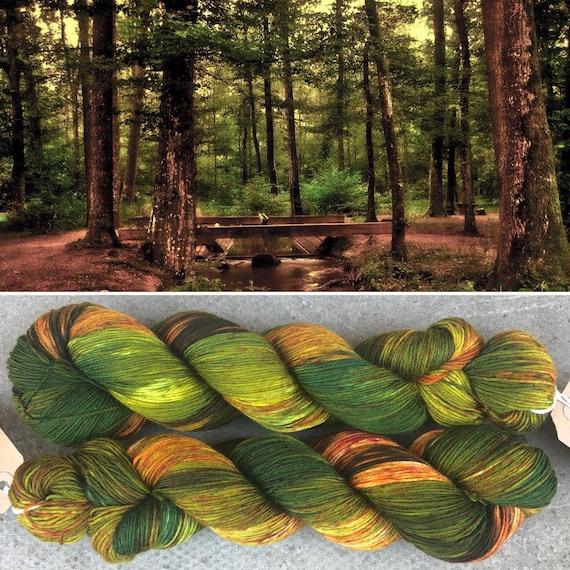 Autumn is Coming, indie dyed merino nylon sock yarn