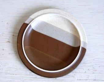 Agate Pass Salad Plate Jim McBride | Fabrik Plate | Fabrik Pottery | Mid Century Stoneware | James McBride