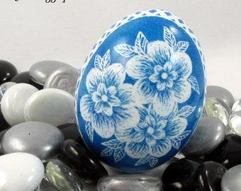 Alcohol Ink Egg, Easter Egg, Egg, Marbled Egg, Easter Gift, Decorated Egg, Easter Decoration, Blue Egg, Alcohol Inkl