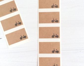 kraft labels - bike