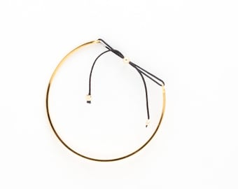 Town Square Wire 1.5MM Gold Bracelet