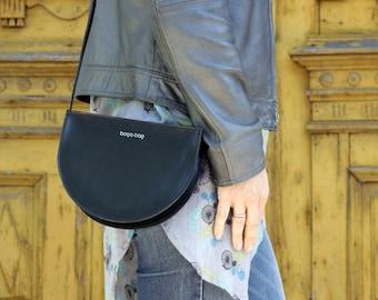 Small black purse, mini crossbody bag, small black bag, small crossbody bag, small purse, leather purse, small shoulder bag, cross body bag