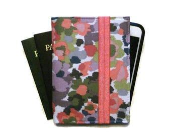 Family Passport Holder, Women's Travel Wallet, Passport Wallet, Passport Case, Cell Phone Case, Passport Cover - Ready to Ship Travel Gift