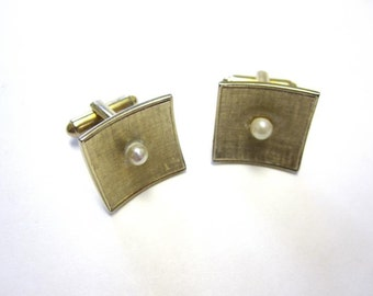Gold Cuff Links Shields Fifth Avenue Cufflinks Mens Jewelry Accessories