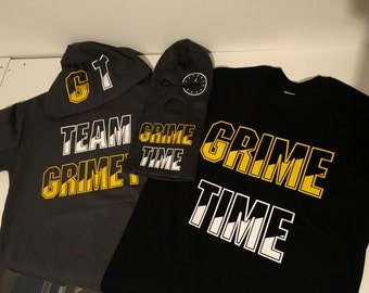 GRIME TIME Full Package Including Hoodie, Shirt, And Ski Mask