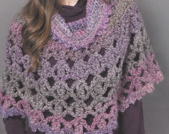 PONCHO WITH COWL