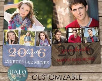 Graduation Invitation, Graduation Card, College, High School, Cheap