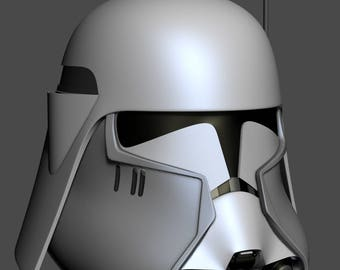 Commander Bacara Helmet 3D printable model