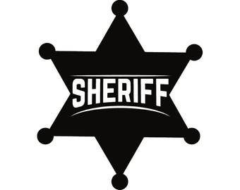 sheriff badge svg etsy rh etsy com sheriff badge clipart free sheriff badge clipart free